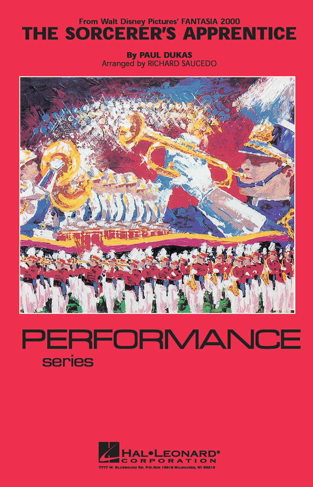 Paul Dukas: The Sorcerer's Apprentice (from Fantasia 2000): Marching Band: Score