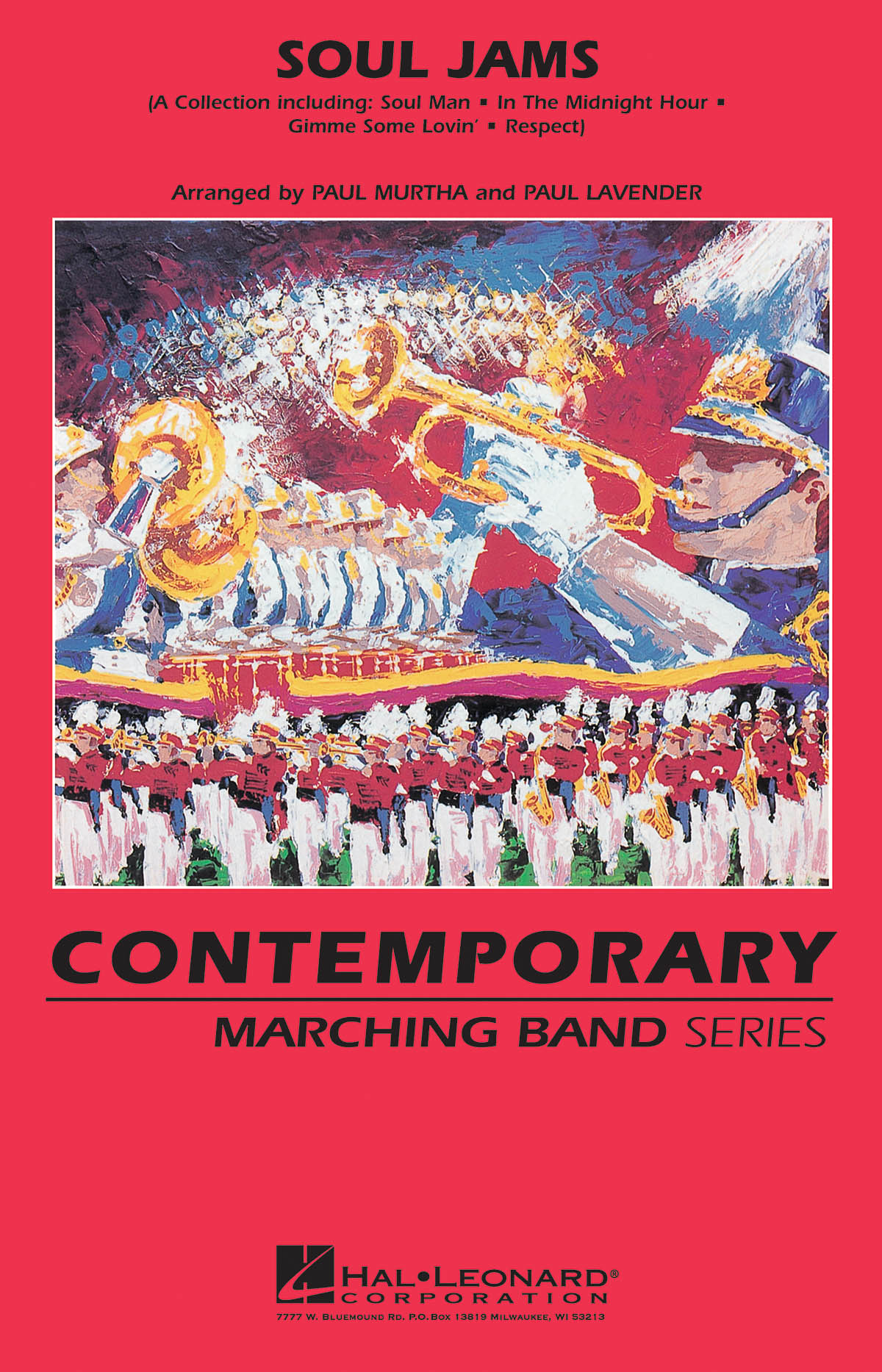 Soul Jams: Marching Band: Score & Parts