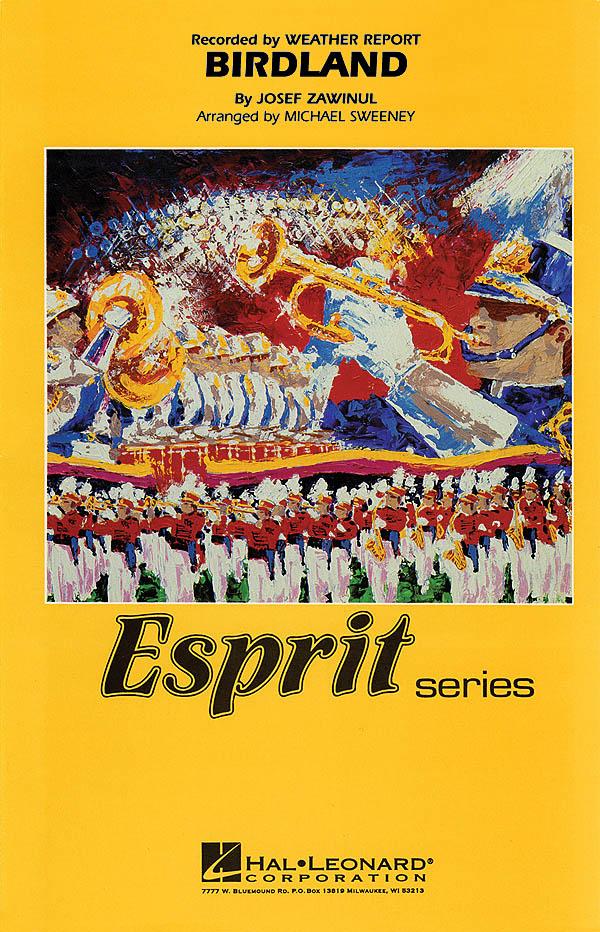 Josef Zawinul: Birdland: Marching Band: Score & Parts