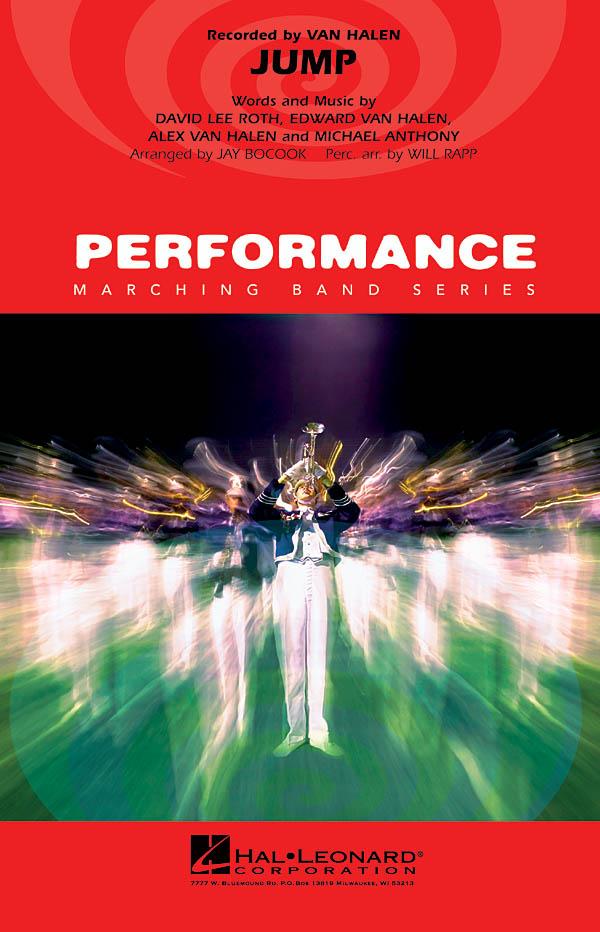 Van Halen: Jump: Marching Band: Score & Parts