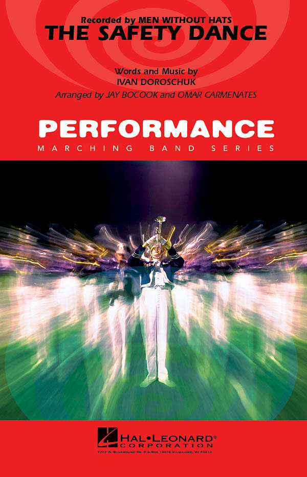 Ivan Doroschuk: The Safety Dance: Marching Band: Score & Parts