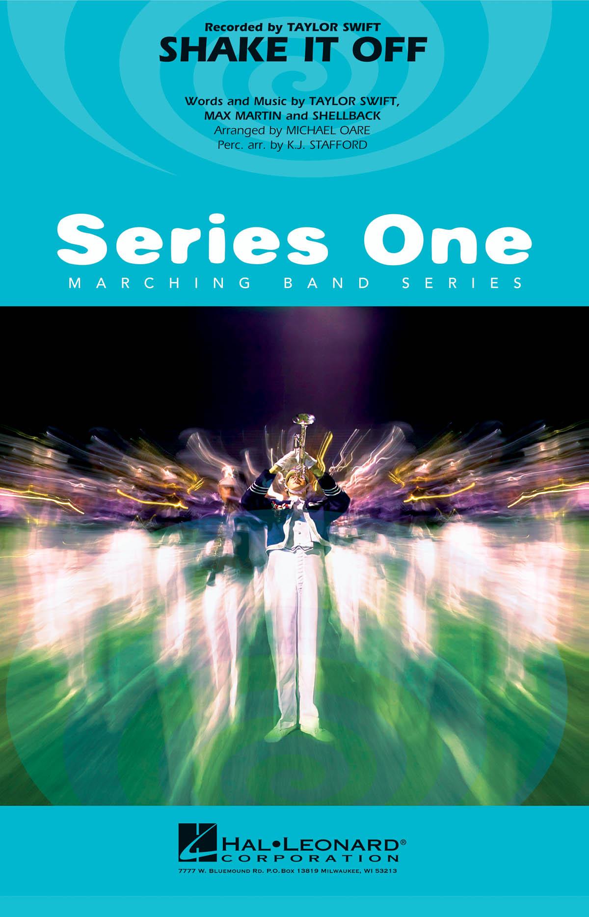 Max Martin  Shellback Taylor Swift: Shake It Off: Marching Band: Score & Parts