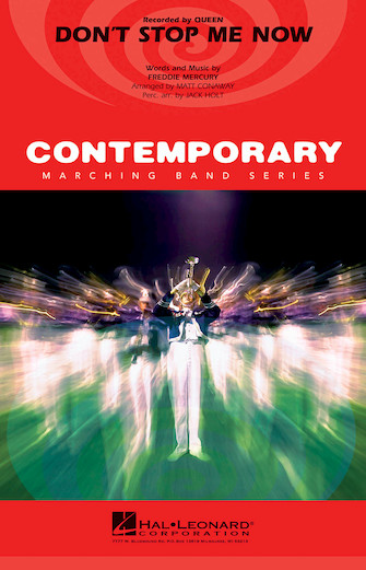 Freddie Mercury: Don't Stop Me Now: Marching Band: Score