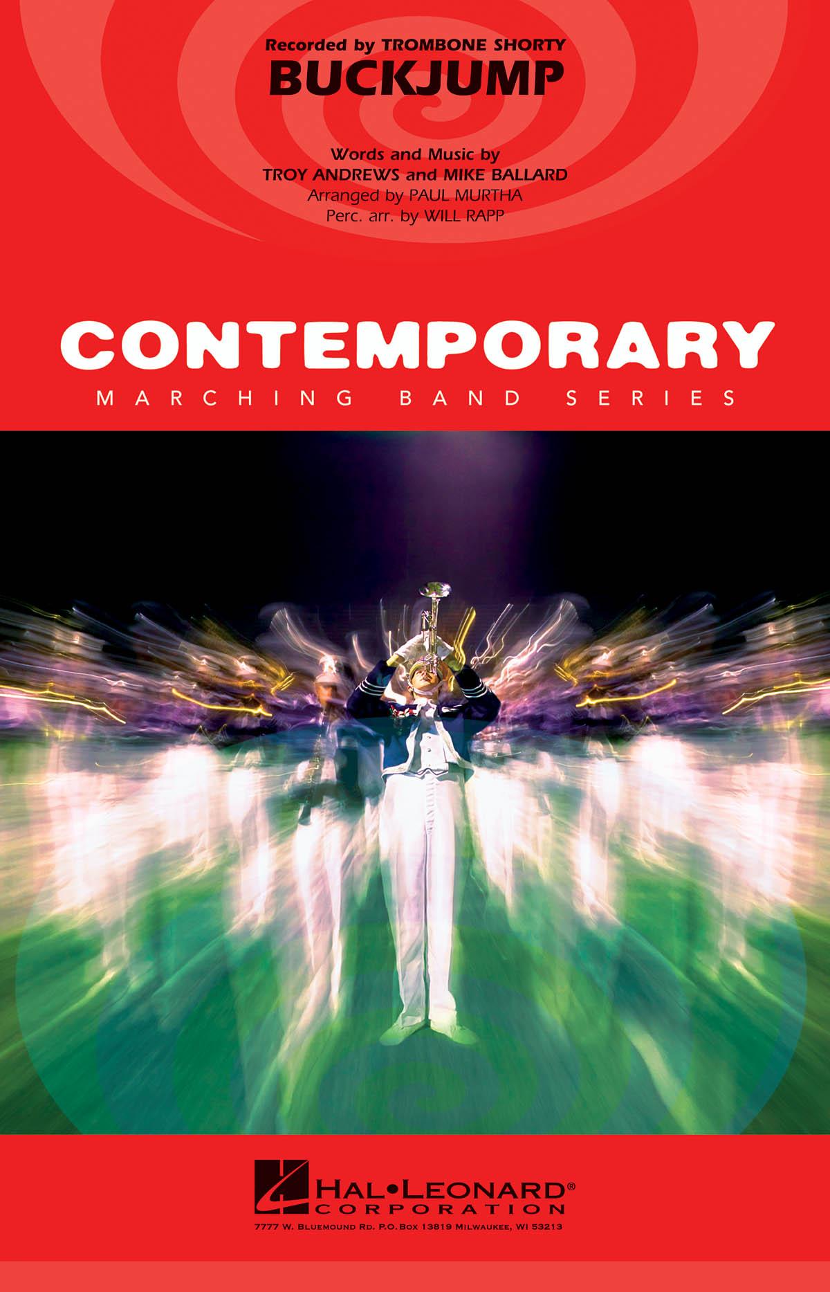 Mike Ballard: Buckjump: Marching Band: Score & Parts
