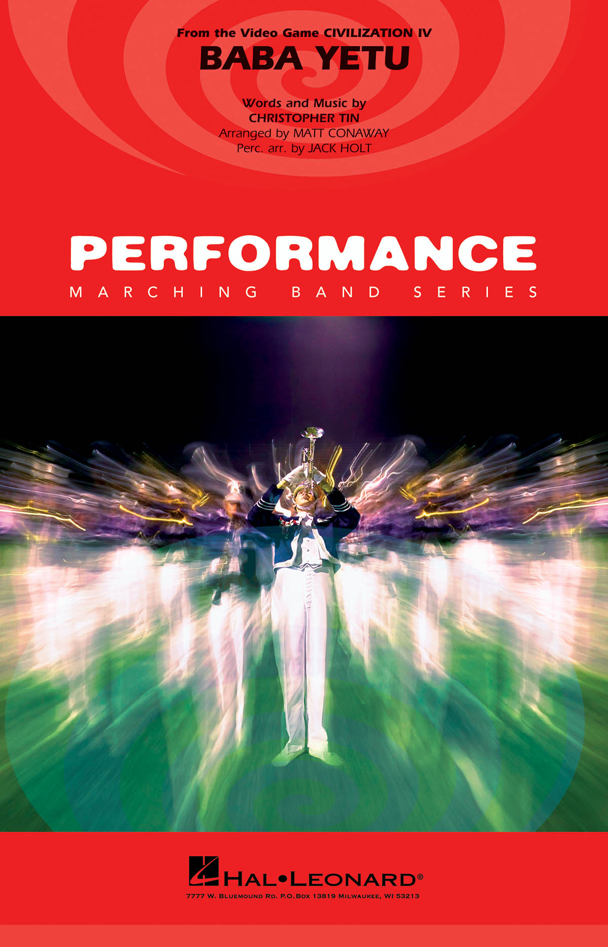 Christopher Tin: Baba Yetu: Marching Band: Score and Parts