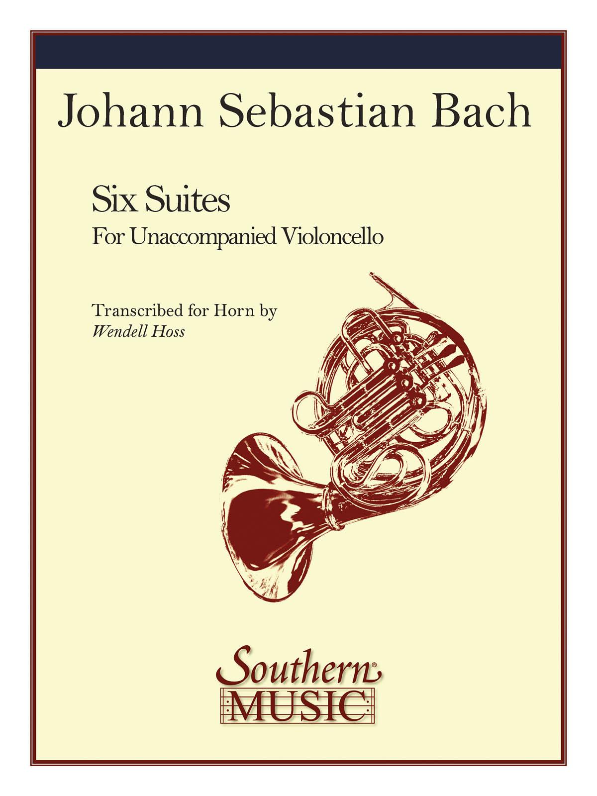 Johann Sebastian Bach: Six Suites: French Horn Solo: Instrumental Album