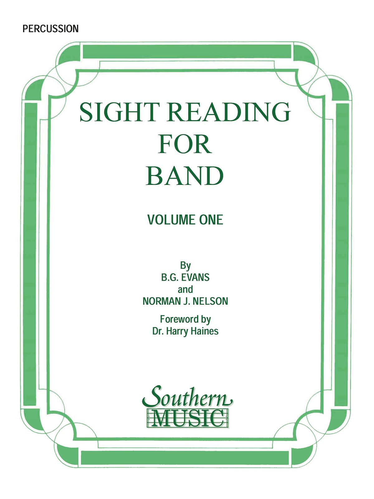 Billy Evans: Sight Reading For Band  Bk. 1 (Srb1): Concert Band: Part