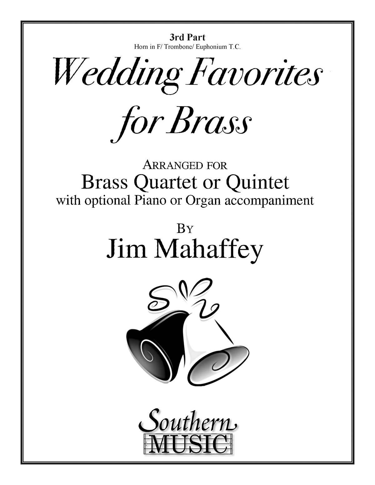 Wedding Favorites For Brass: Brass Ensemble: Part