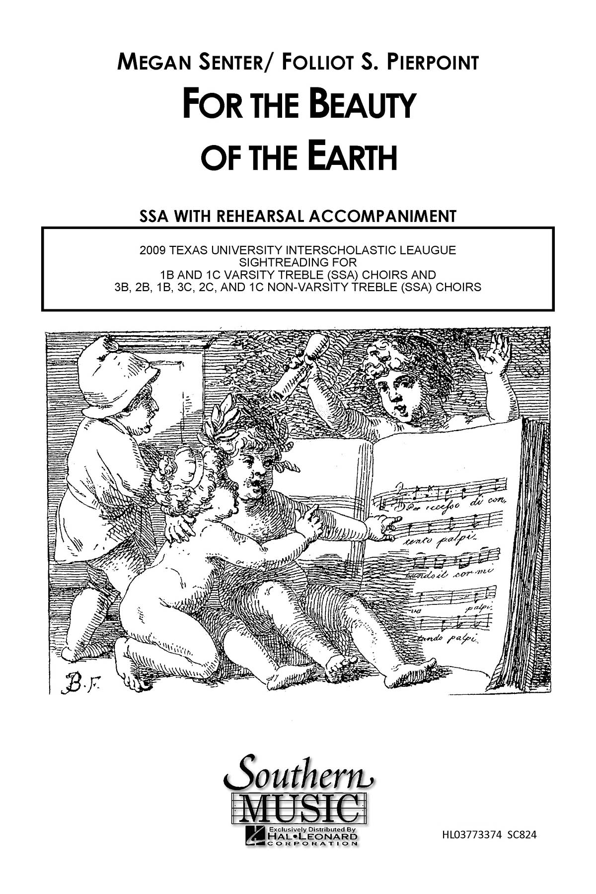 Megan Senter: For The Beauty Of The Earth: Upper Voices a Cappella: Vocal Score