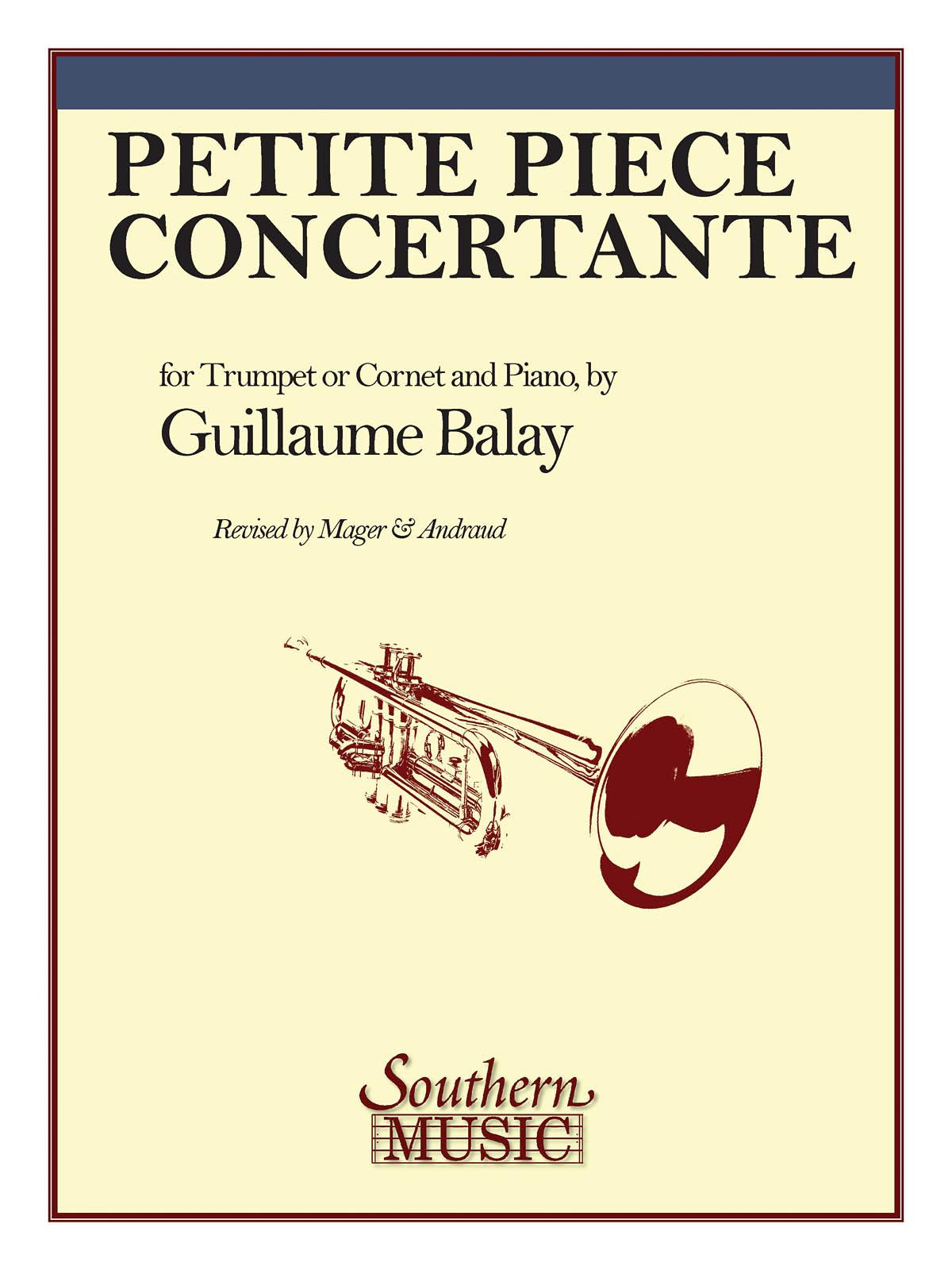 Guillaume Balay: Petite Piece Concertante: Trumpet Solo: Instrumental Album