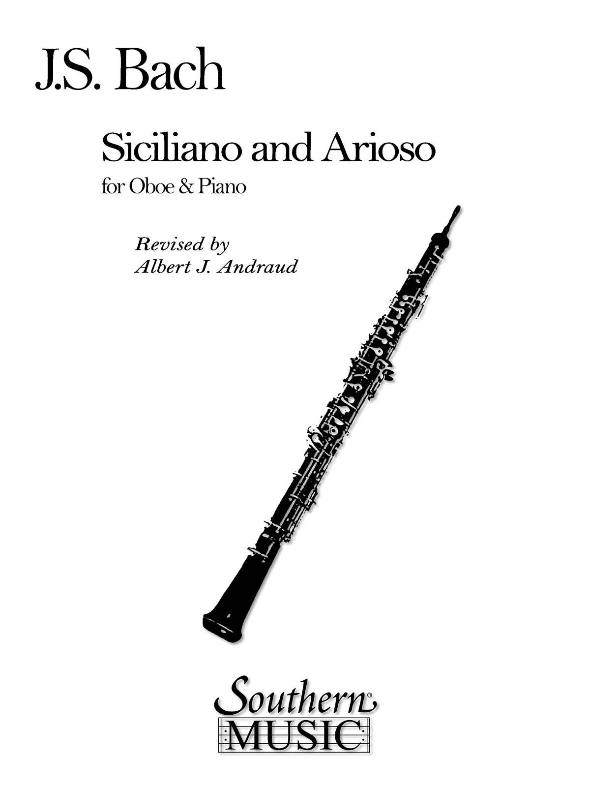 Johann Sebastian Bach: Siciliano And Arioso: Oboe Solo: Instrumental Album