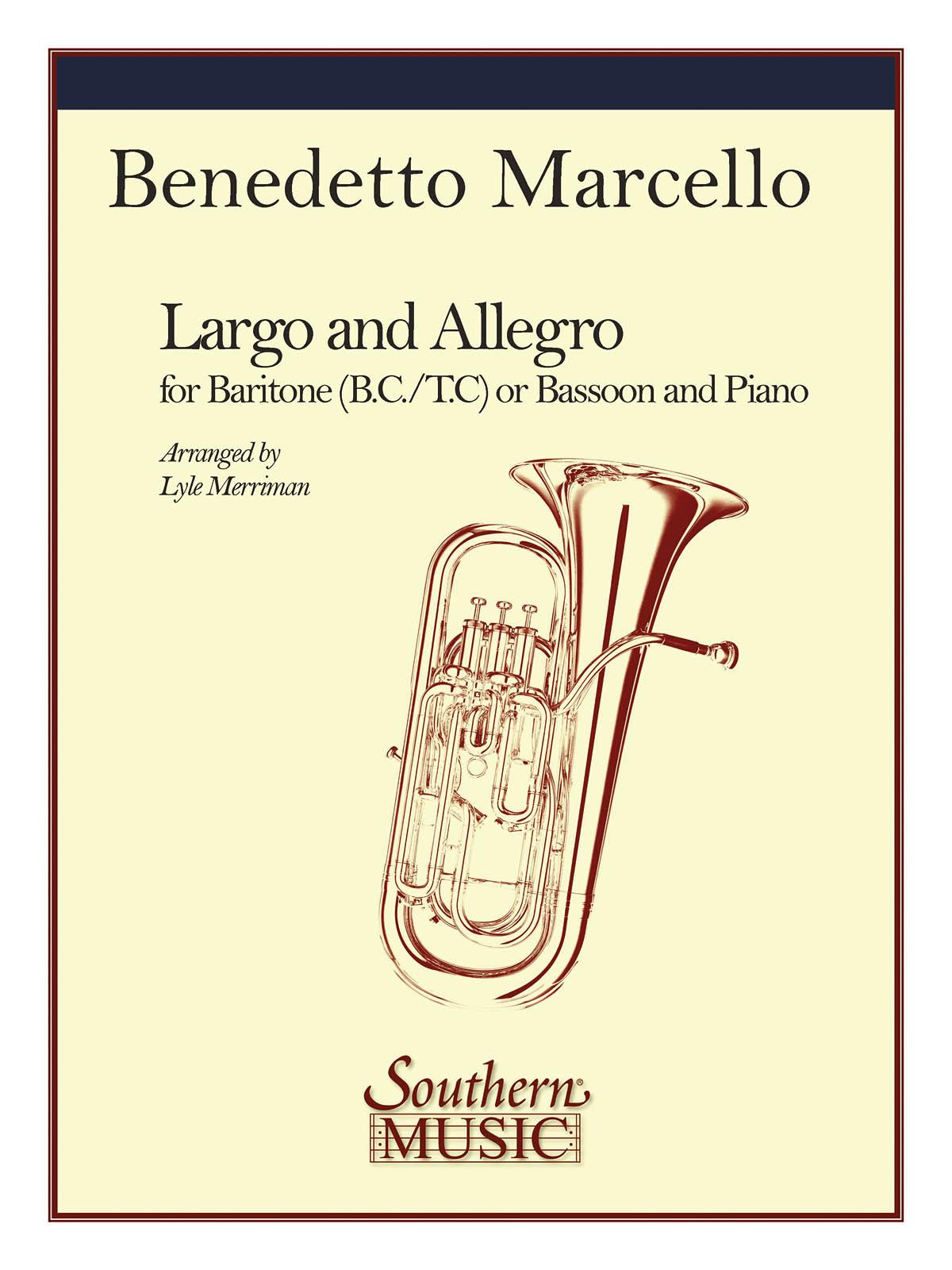 Benedetto Marcello: Largo And Allegro: Baritone: Instrumental Album