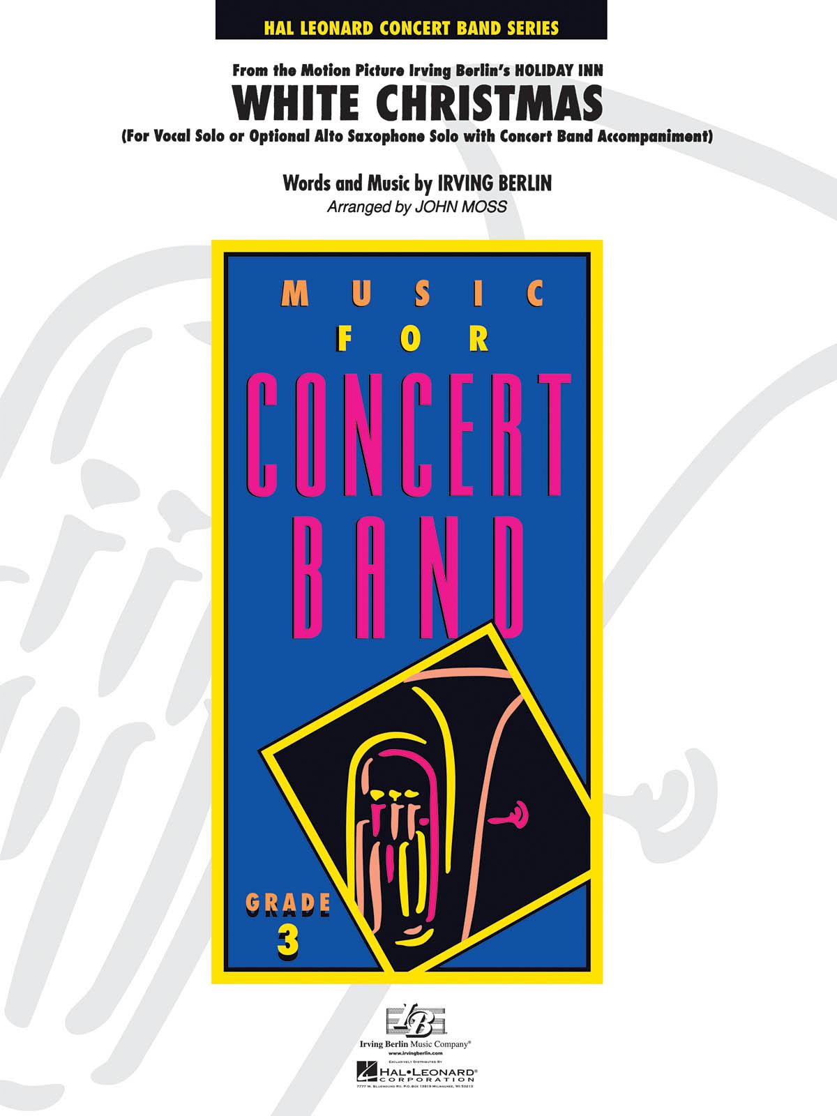 Irving Berlin: White Christmas: Concert Band: Score