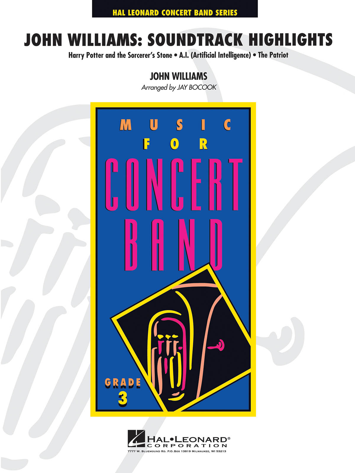 John Williams: John Williams: Soundtrack Highlights: Concert Band: Score & Parts