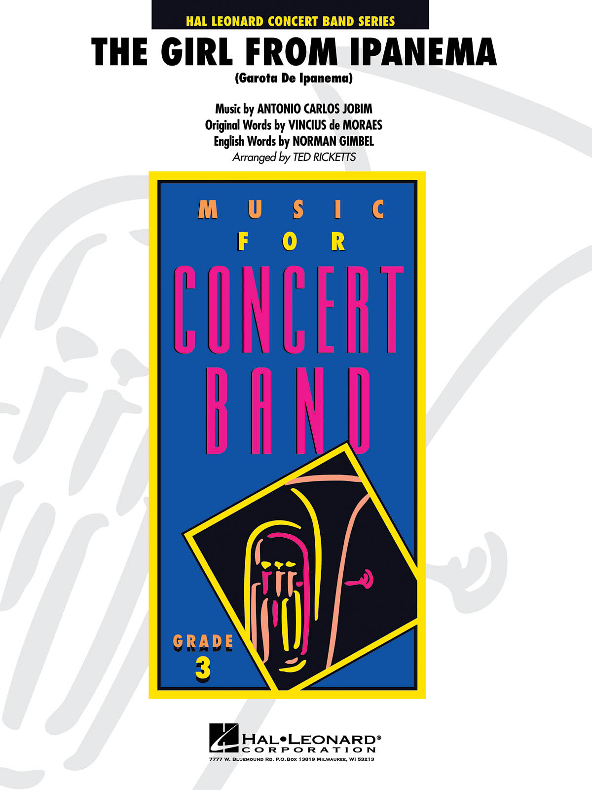 The Girl from Ipanima: Concert Band: Score & Parts