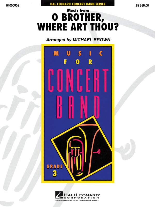 Music from O Brother  Where Art Thou?: Concert Band: Score & Parts