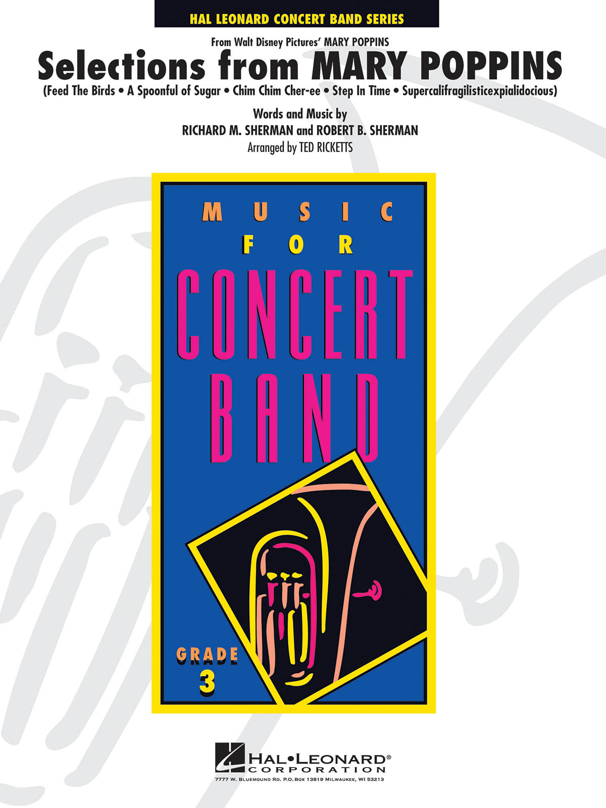 Selections from Mary Poppins: Concert Band: Score & Parts