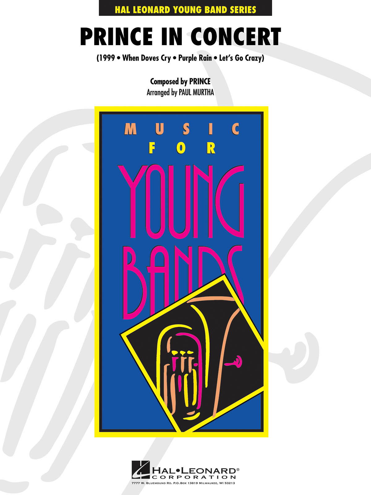 Prince: Prince in Concert: Concert Band: Score & Parts