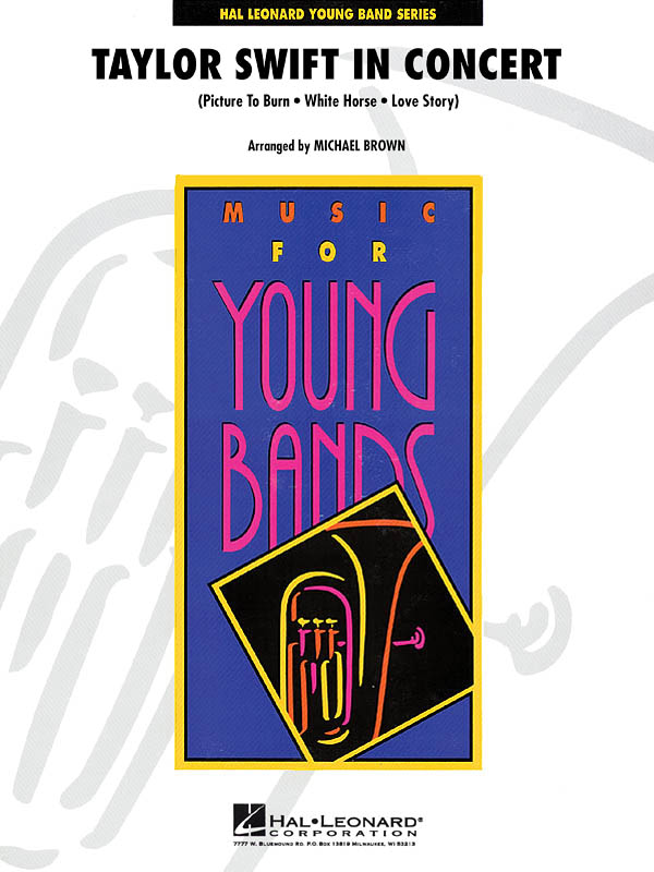 Taylor Swift: Taylor Swift in Concert: Concert Band: Score & Parts