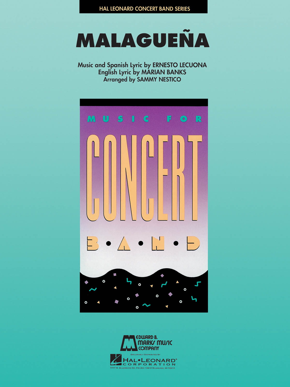 Stan Kenton: Malaguena: Concert Band: Score & Parts