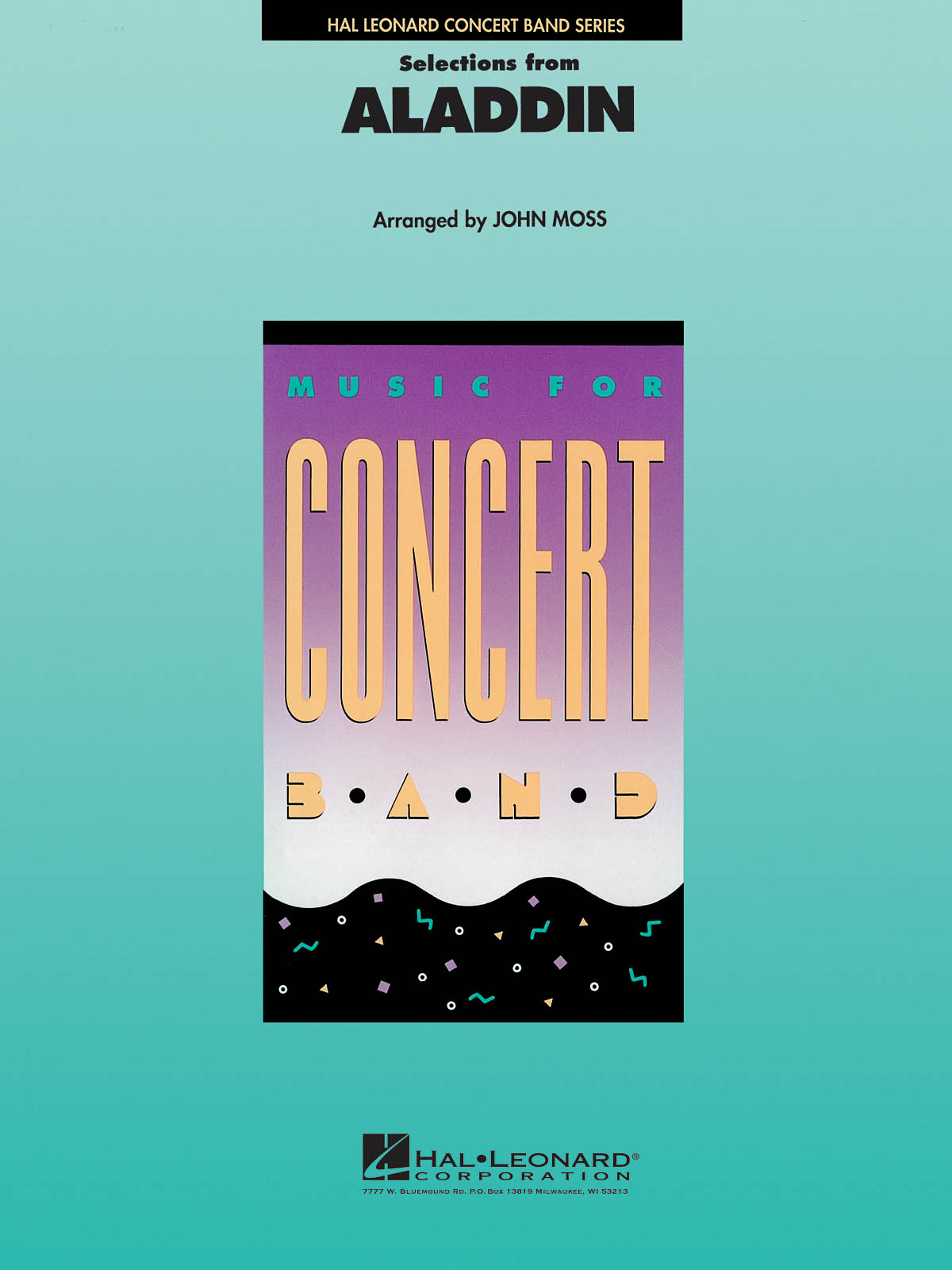 Alan Menken: Selections from Aladdin: Concert Band: Score and Parts