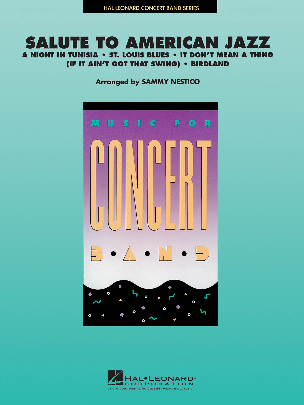 Salute to American Jazz: Concert Band: Score & Parts