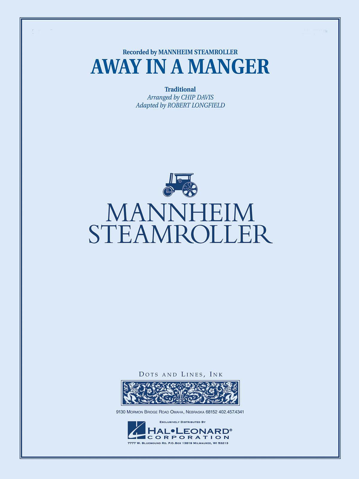 Away In A Manger: Concert Band: Score