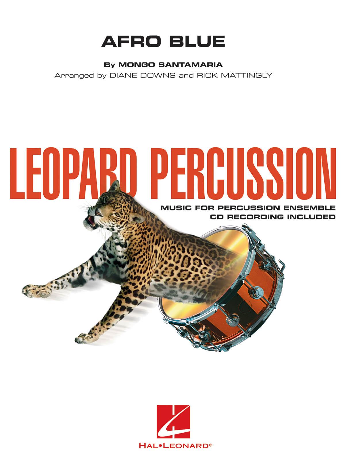 Mongo Santamaria: Afro Blue - Leopard Percussion: Percussion Ensemble: Score