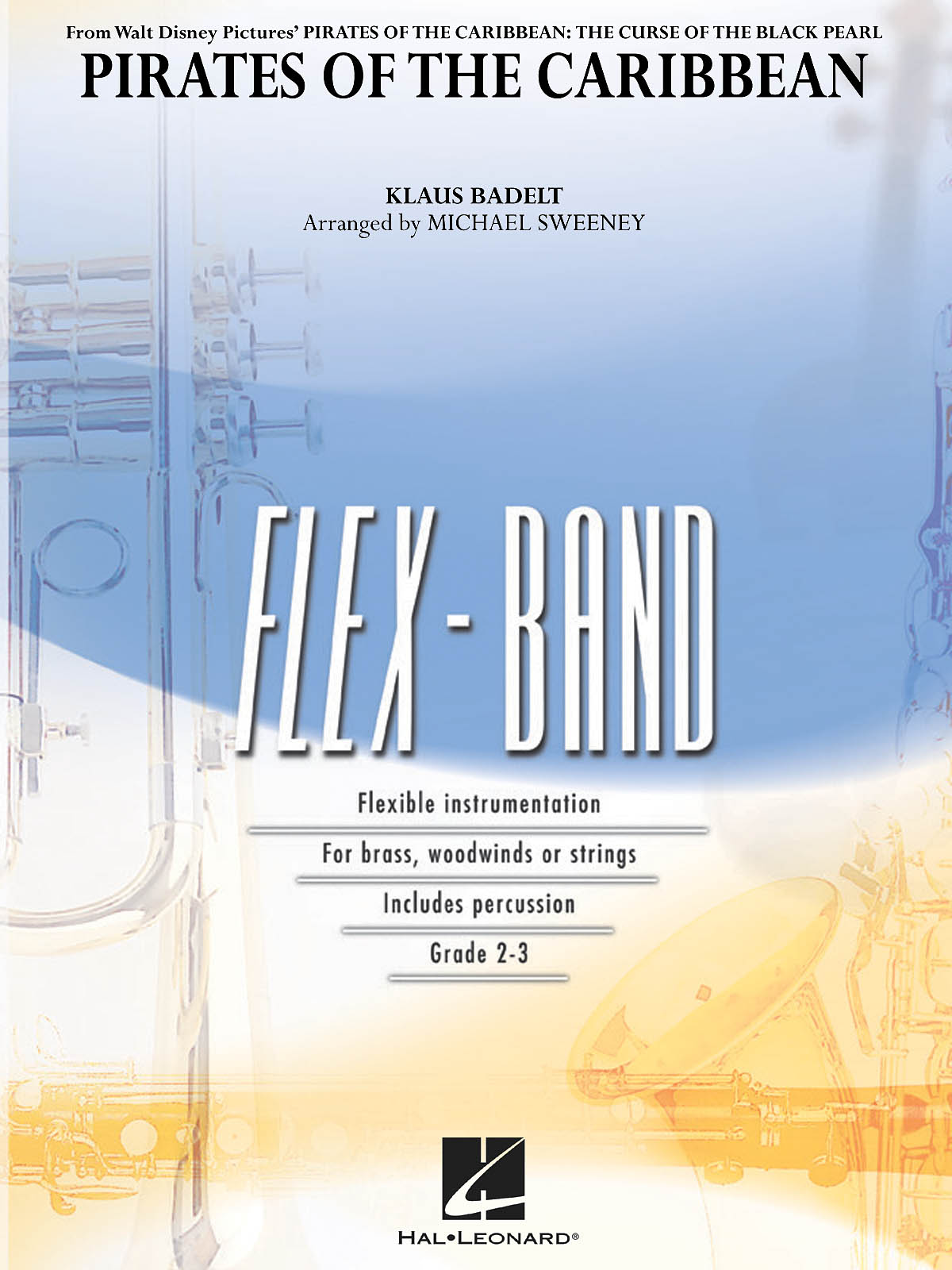 Klaus Badelt: Pirates of the Caribbean (flex-band): Concert Band: Score