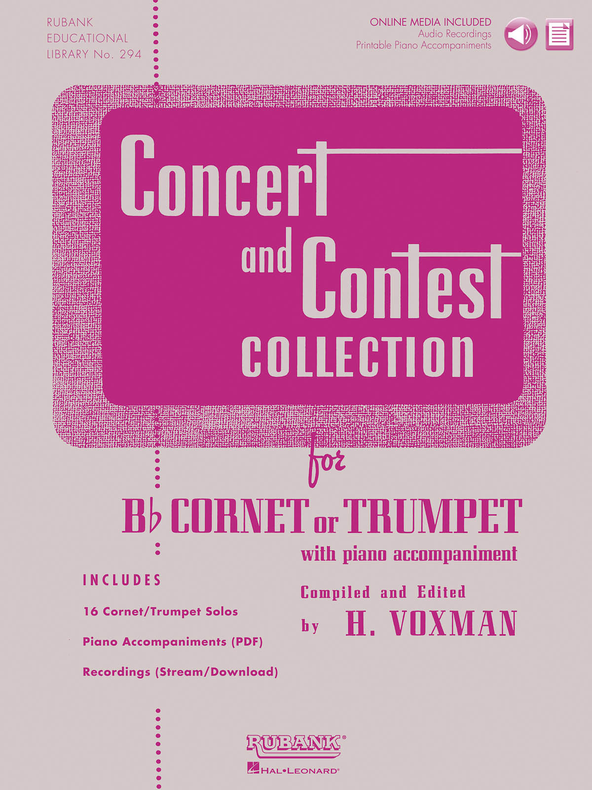 Concert and Contest Collection for Trumpet: Trumpet Solo: Instrumental Album