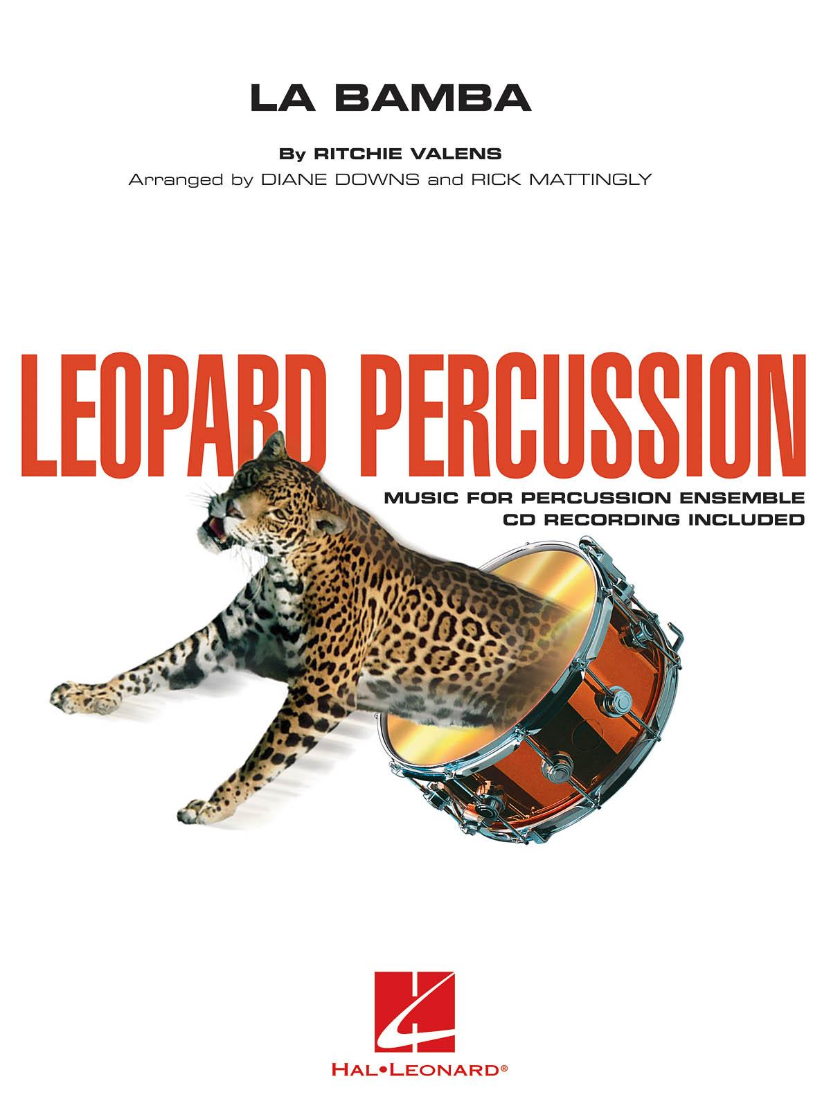 Ritchie Valens: La Bamba: Percussion Ensemble: Score and Parts