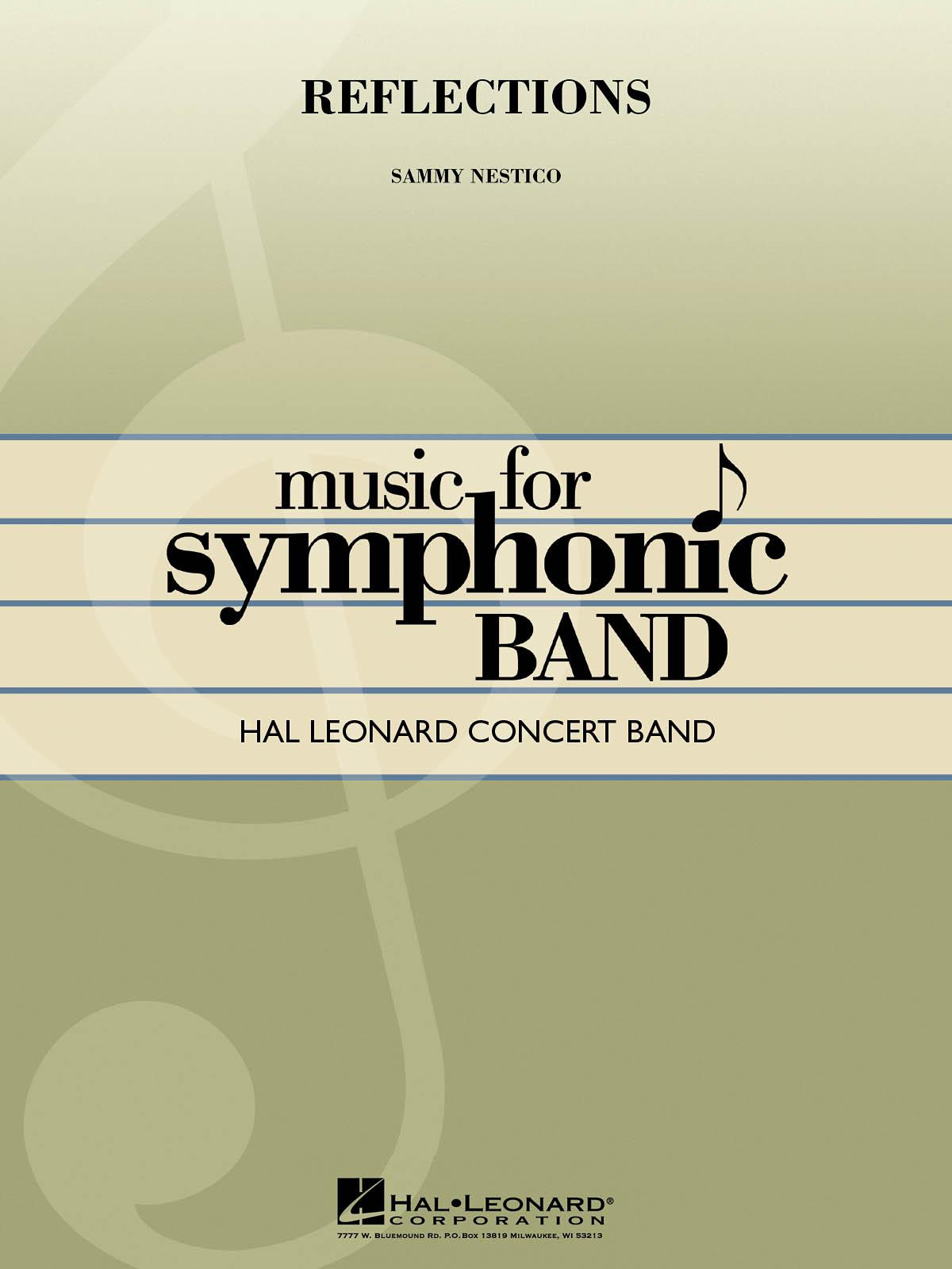 Sammy Nestico: Reflections: Concert Band: Score & Parts