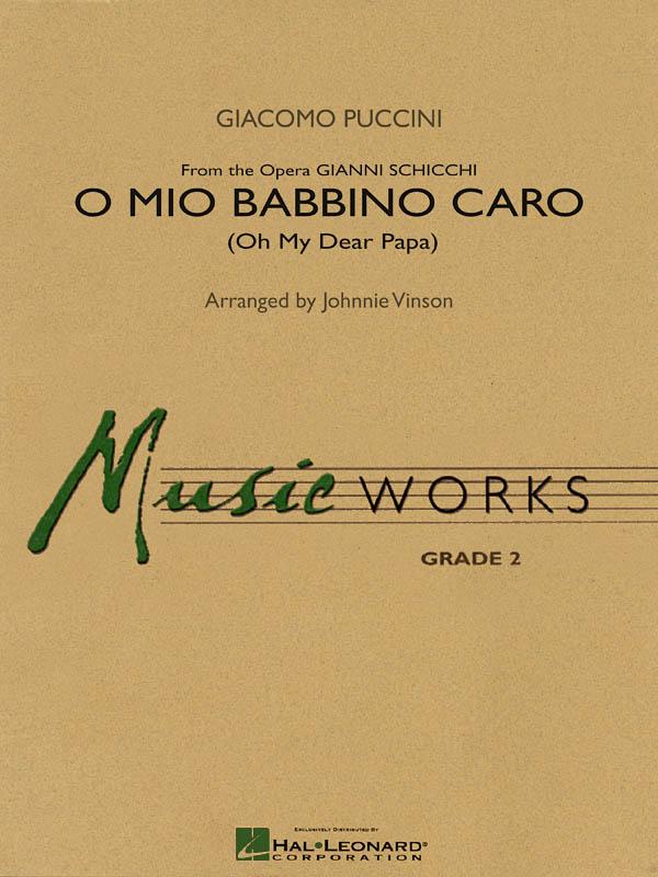 Giacomo Puccini: O Mio Babbino Caro: Concert Band: Score