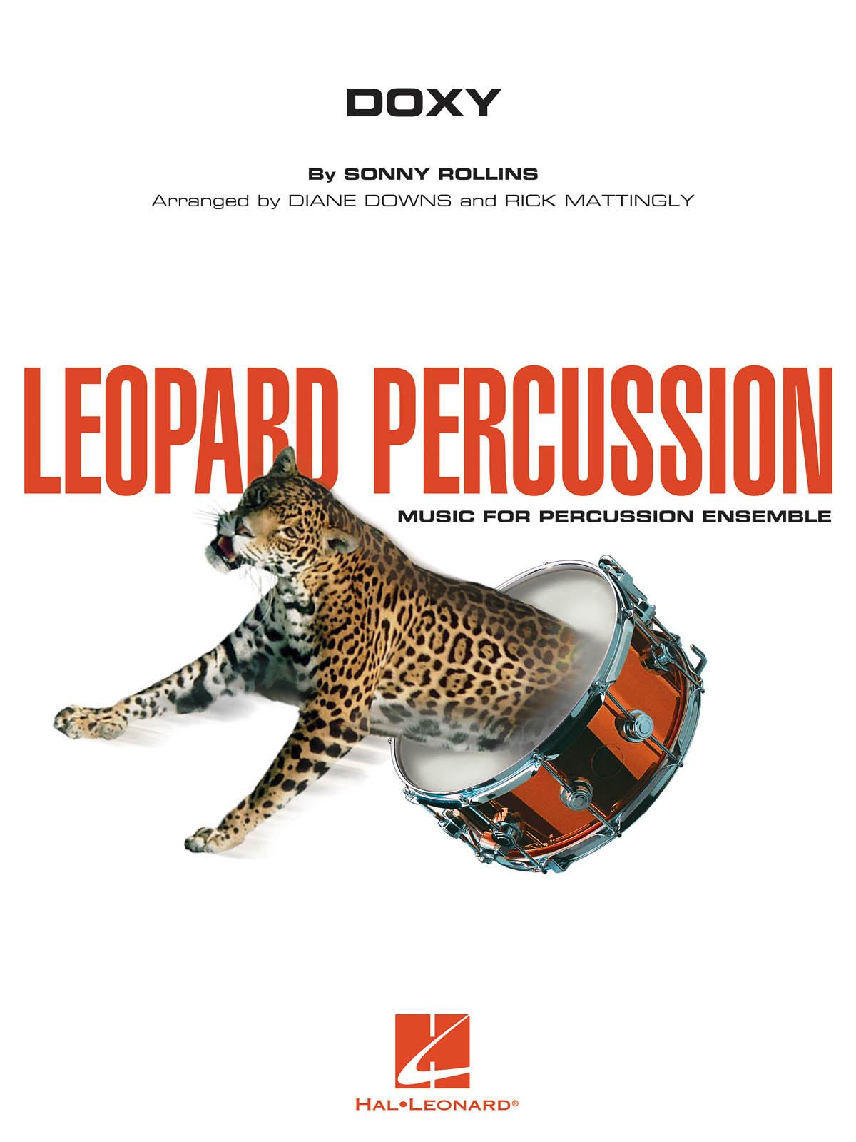 Sonny Rollins: Doxy - Leopard Percussion: Percussion Ensemble: Score & Parts