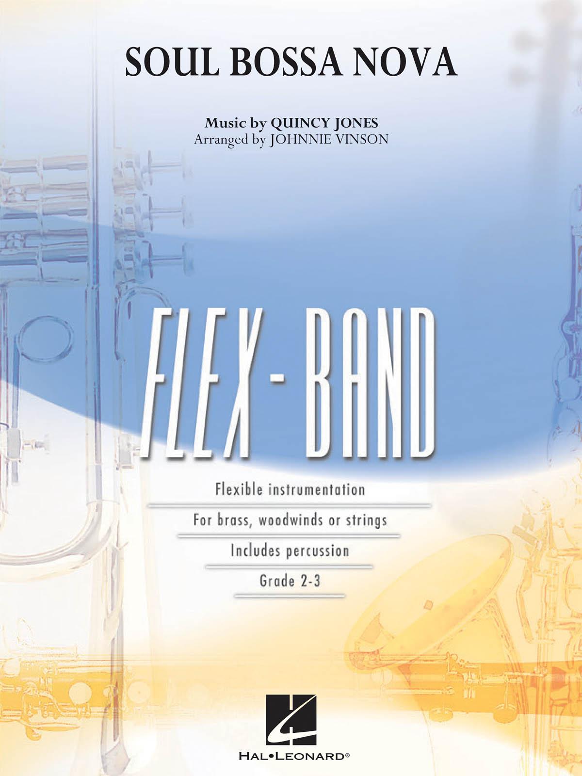 Quincy Jones: Soul Bossa Nova: Concert Band: Score & Parts