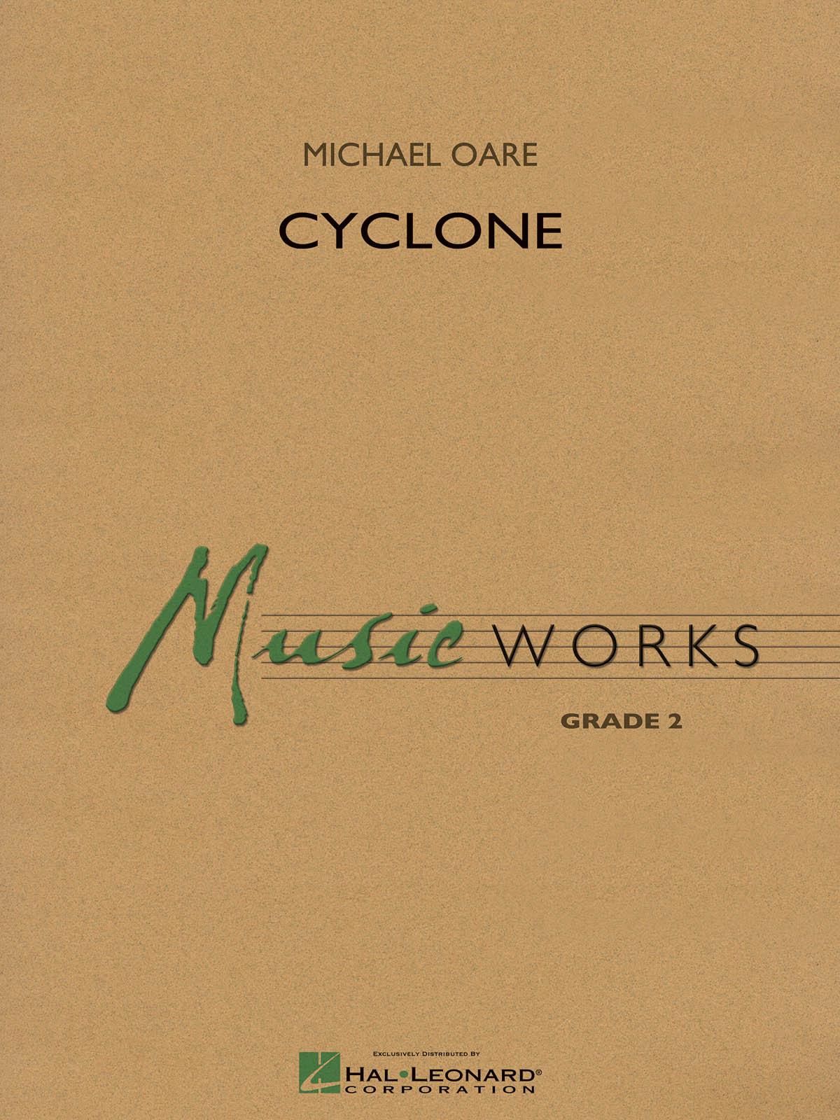 Michael Oare: Cyclone: Concert Band: Score & Parts