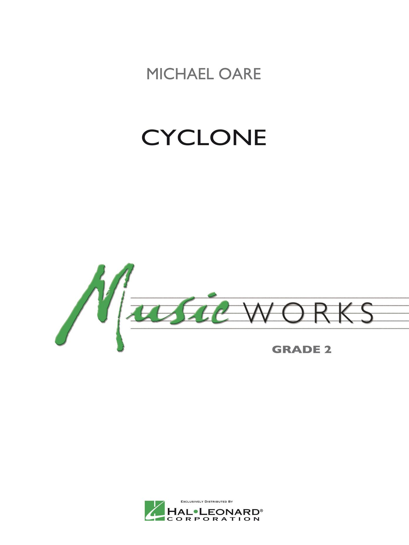 Michael Oare: Cyclone: Concert Band: Score