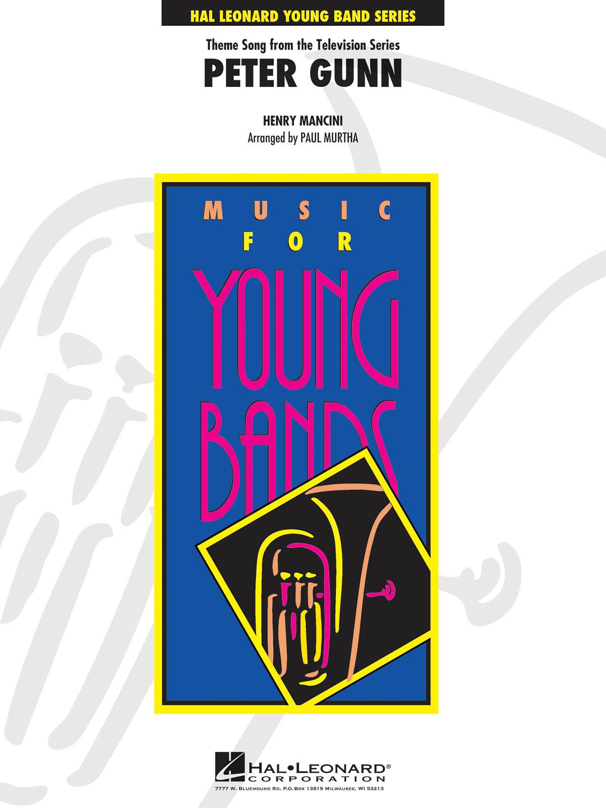 Henry Mancini: Peter Gunn: Orchestra: Score