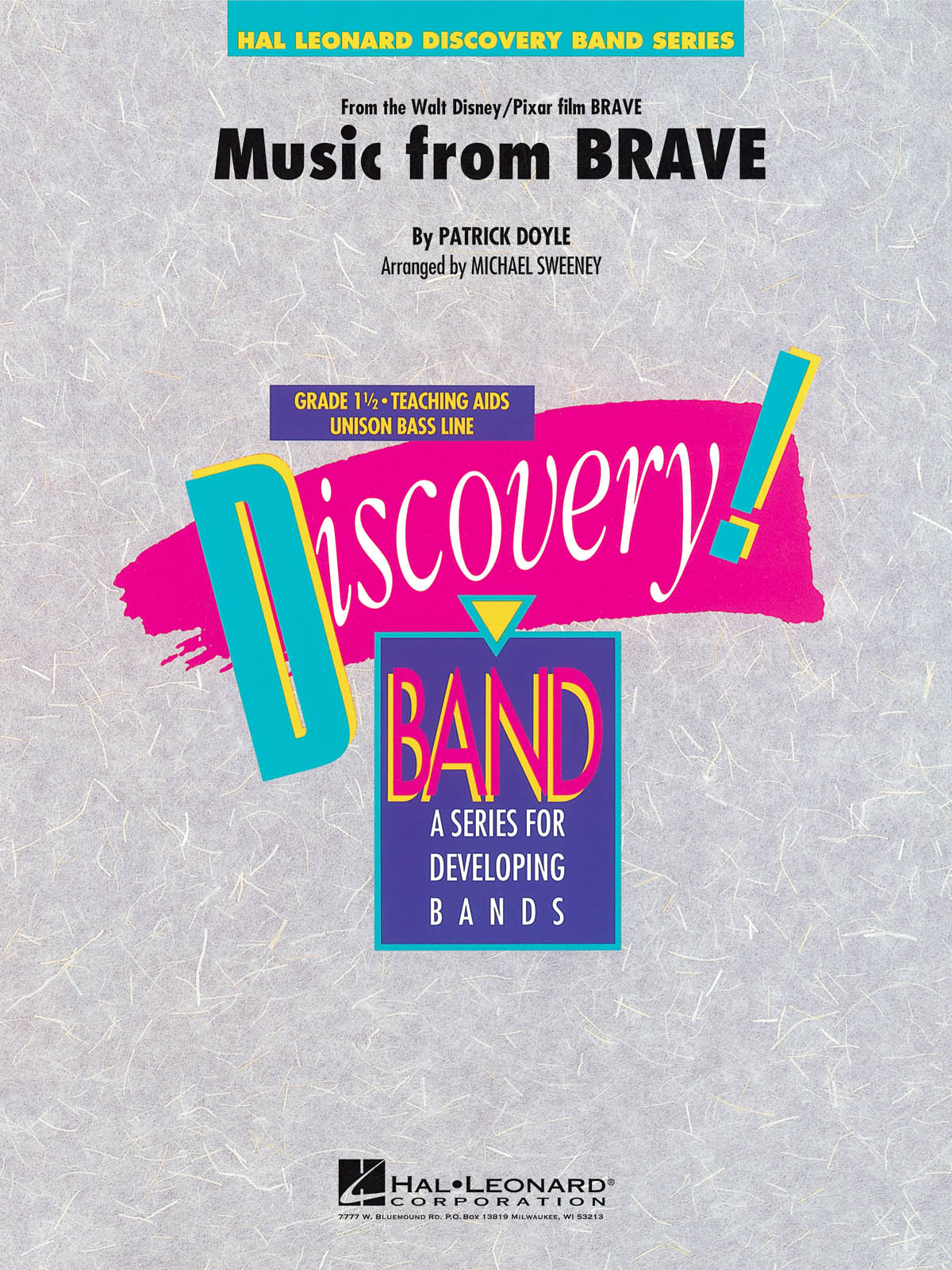 Patrick Doyle: Music From Brave: Concert Band: Score & Parts