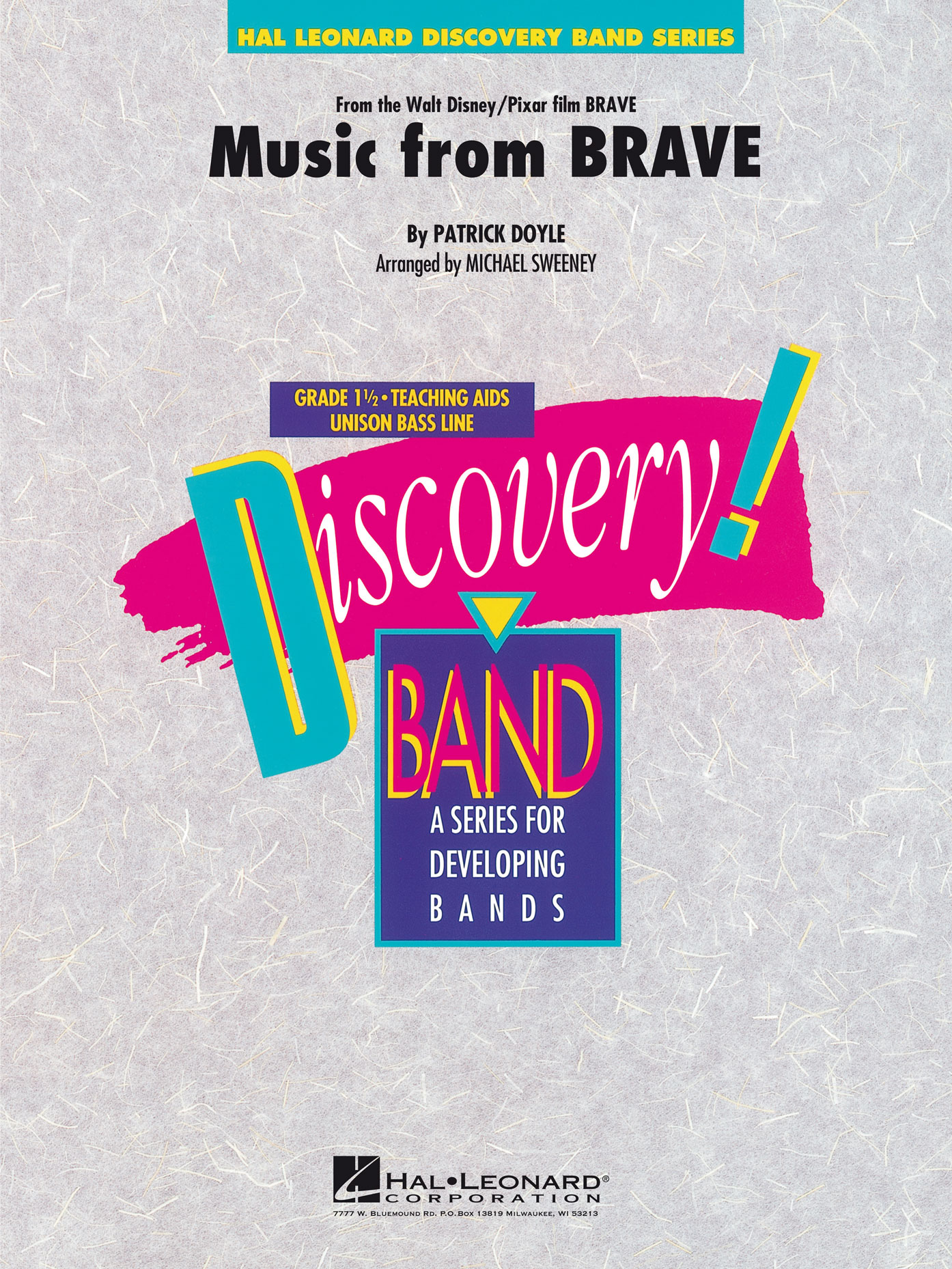 Patrick Doyle: Music From Brave: Concert Band: Score