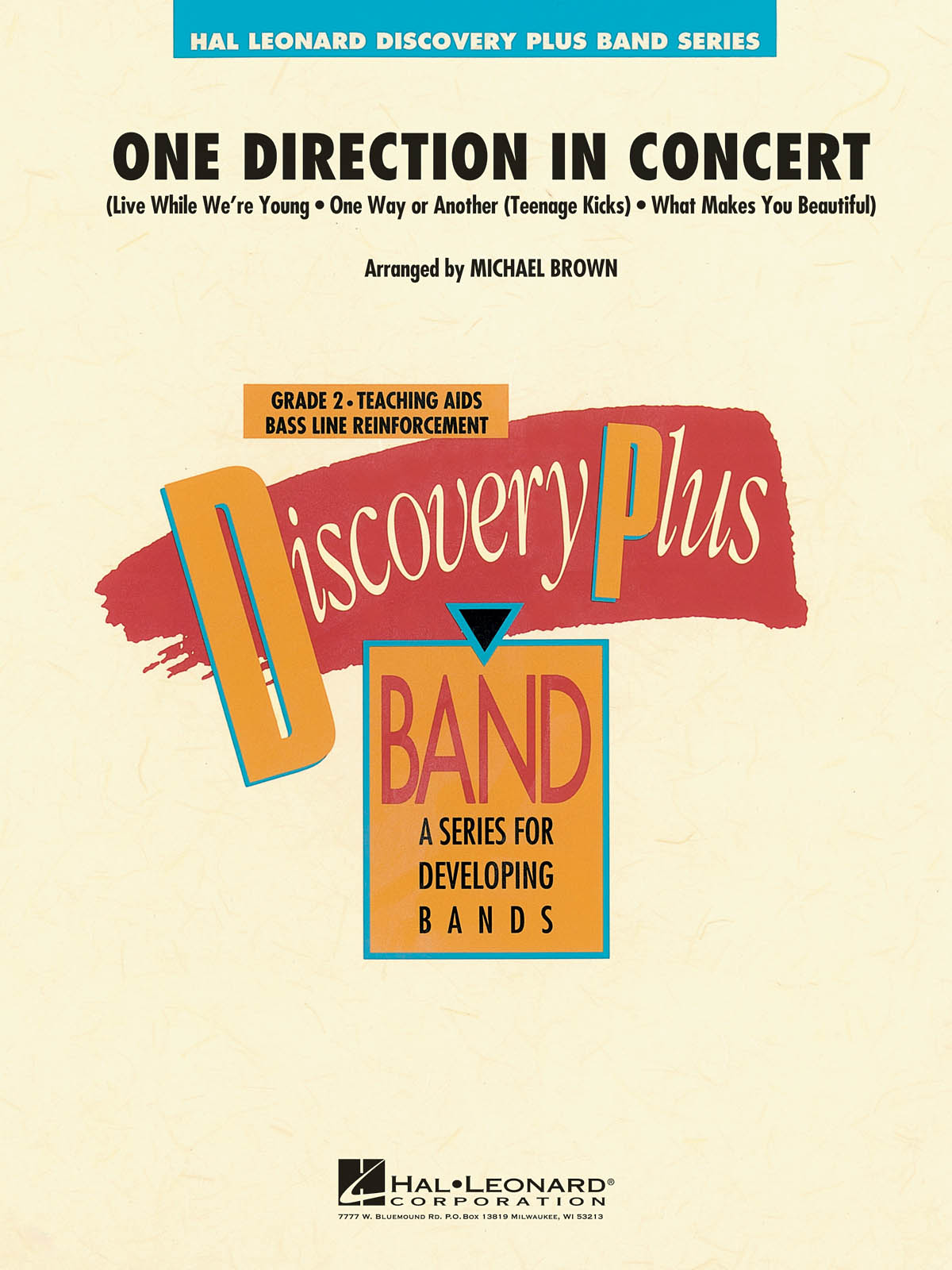 One Direction: One Direction In Concert: Concert Band: Score & Parts