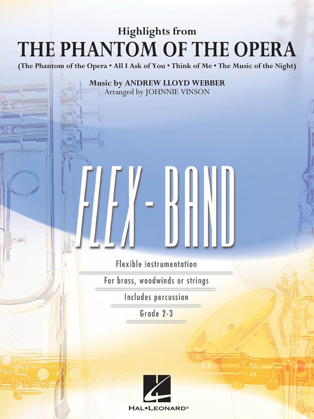 Andrew Lloyd Webber: Highlights from The Phantom of the Opera: Flexible Band:
