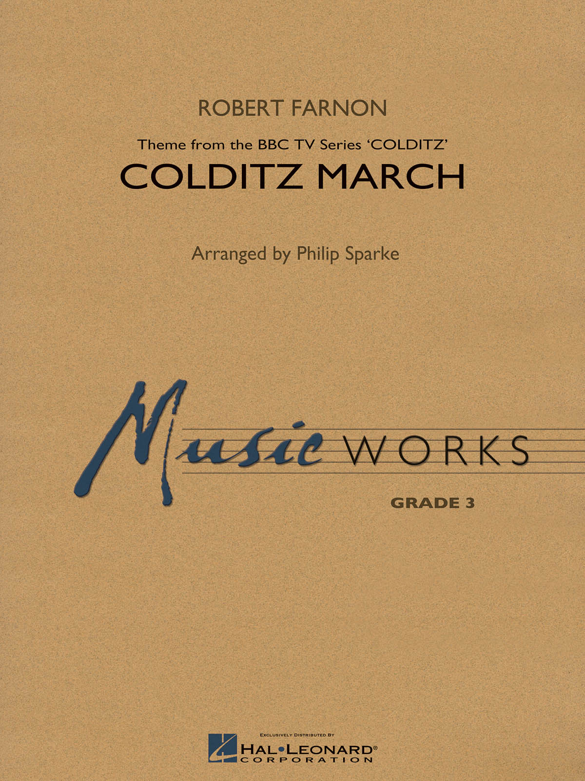 Robert Farnon: Colditz March: Concert Band: Score and Parts