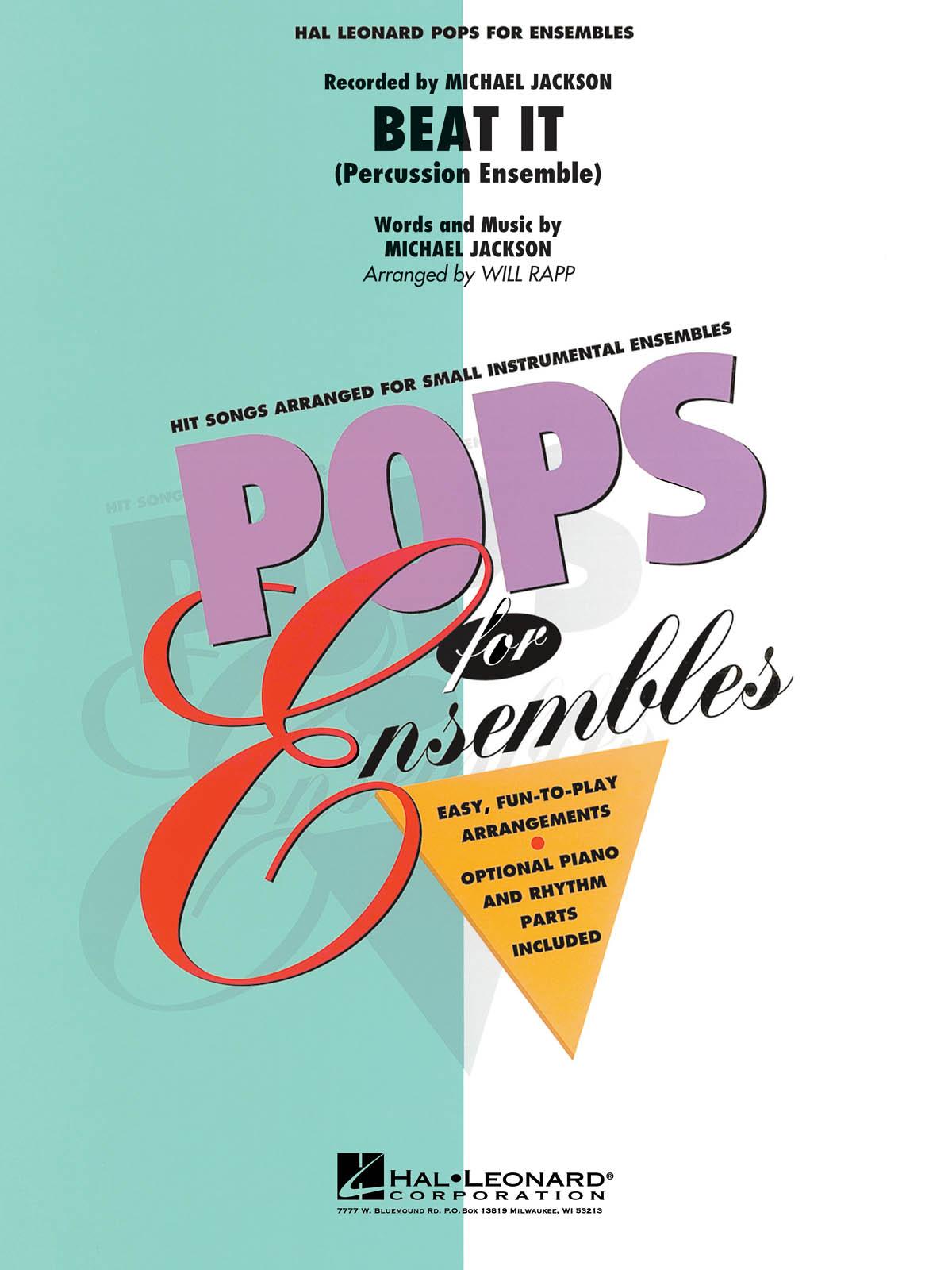Beat It: Percussion Ensemble: Score & Parts