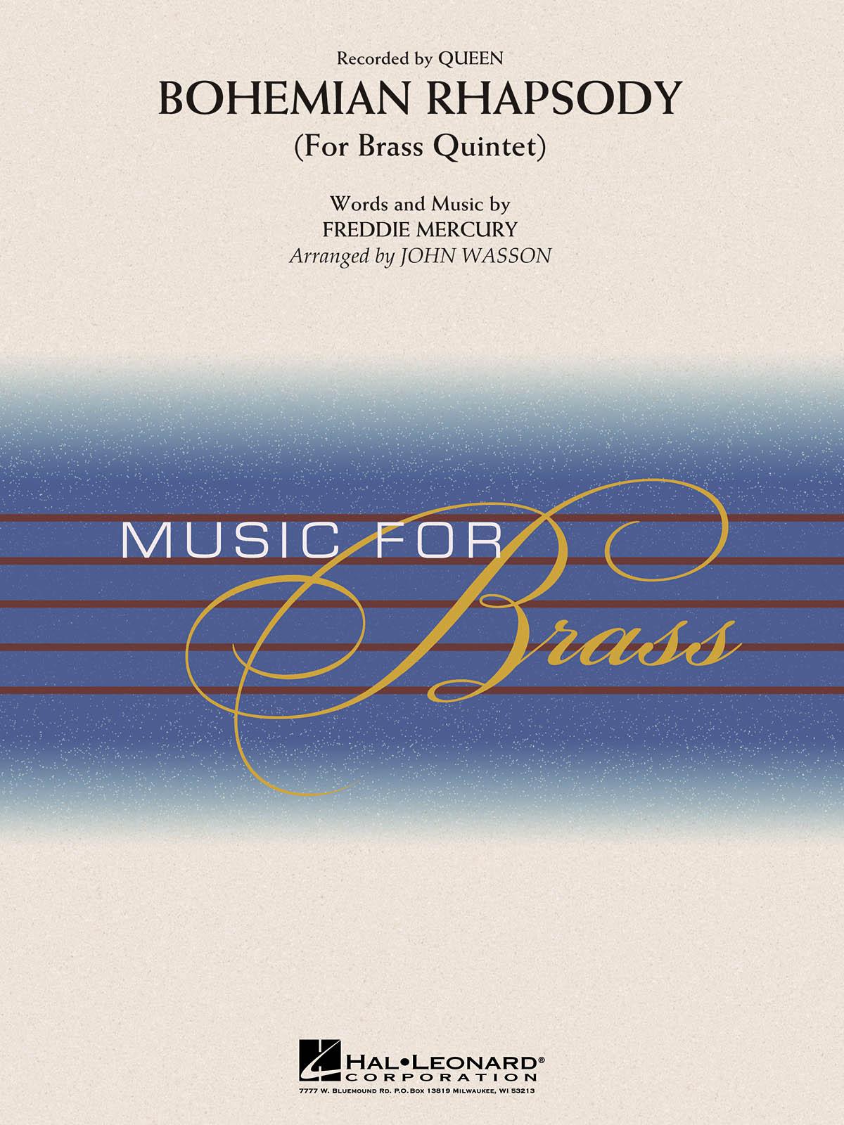 Bohemian Rhapsody: Brass Ensemble: Score & Parts