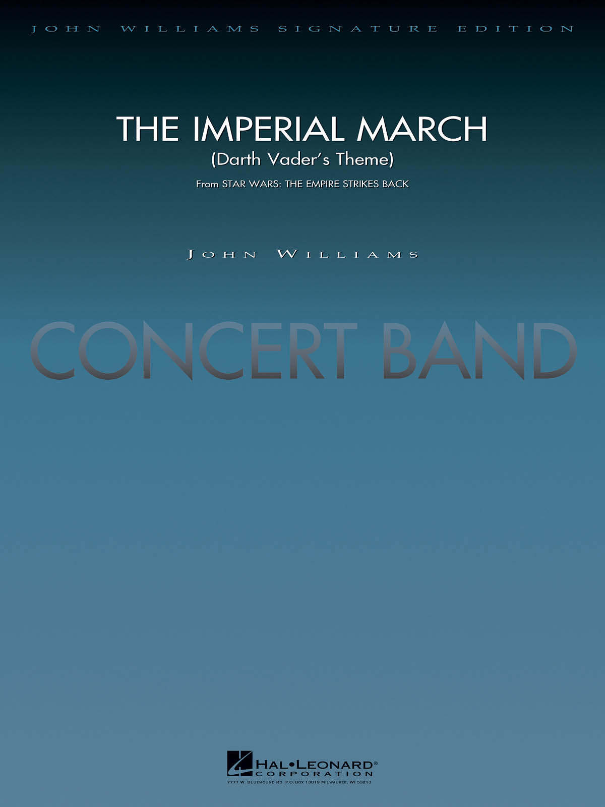 John Williams: The Imperial March (Darth Vader's Theme): Concert Band: Score