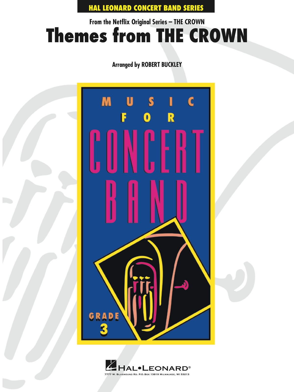 Themes From The Crown: Concert Band: Score and Parts