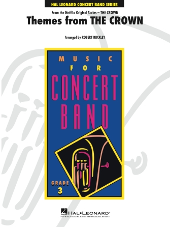 Themes From The Crown: Concert Band: Score
