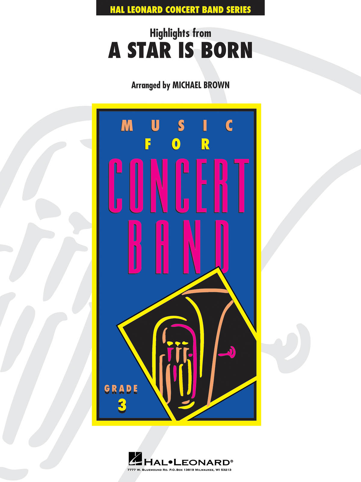 Highlights from A Star Is Born: Concert Band: Score & Parts