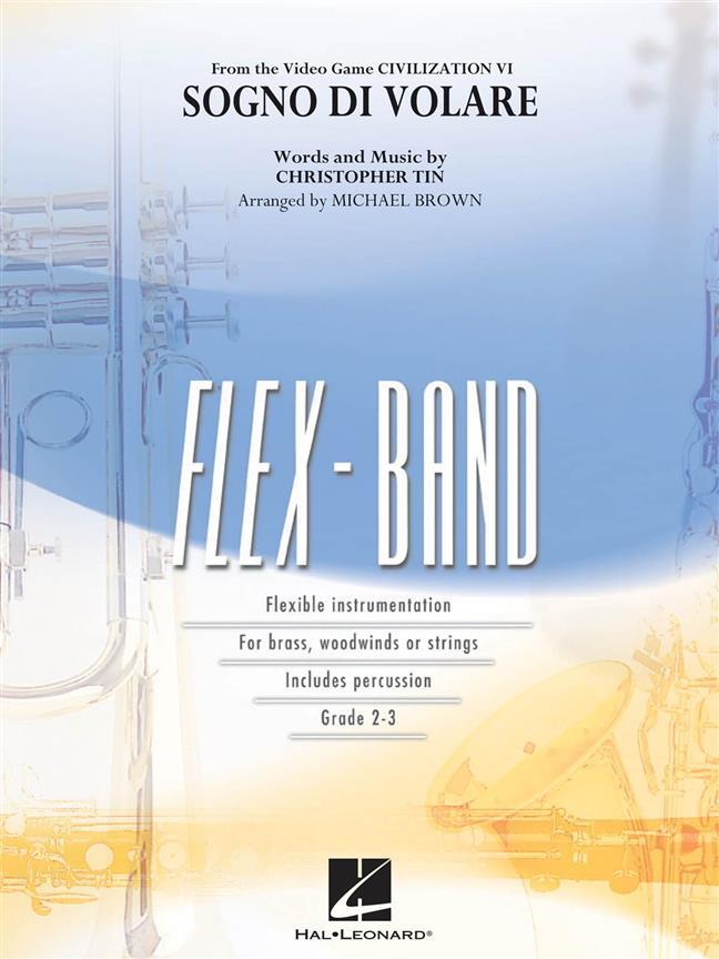 Christopher Tin: Sogno di Volare: Flexible Band: Score